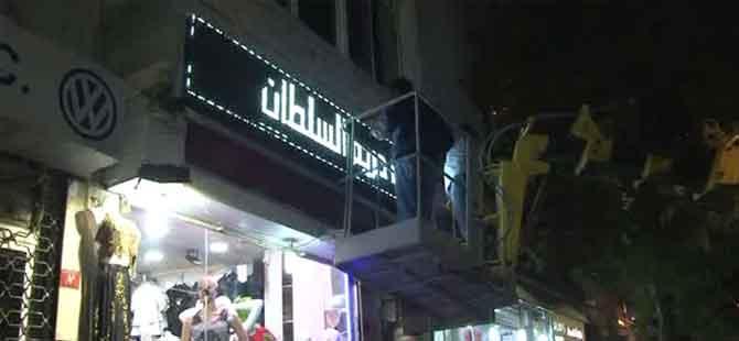 Beyoğlu'nda 'Led Işıklı Tabela' operasyonu