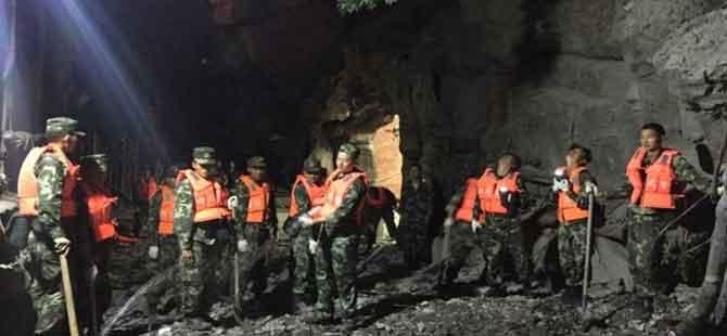 Çin'de deprem: En az 13 ölü