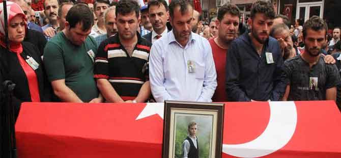 PKK'nın şehit etiği Eren'i, Maçka bağrına bastı
