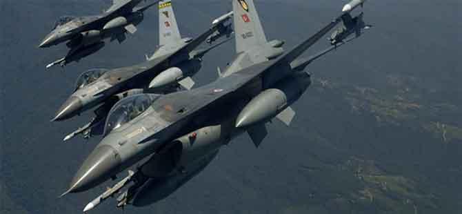 Türk savaş uçakları Resulayn'daki hedefleri vurdu