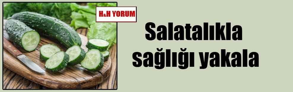 Salatalıkla sağlığı yakala