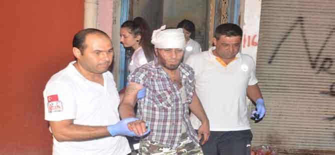 Mahalle karıştı, Suriyeli kardeşler yaralandı