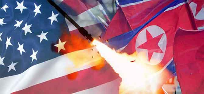 Kuzey Kore: ABD savaş ilan etti!