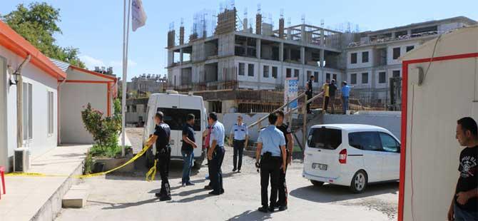 Valilik binası inşaatında cinayet
