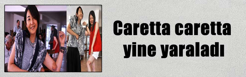 Caretta caretta yine yaraladı