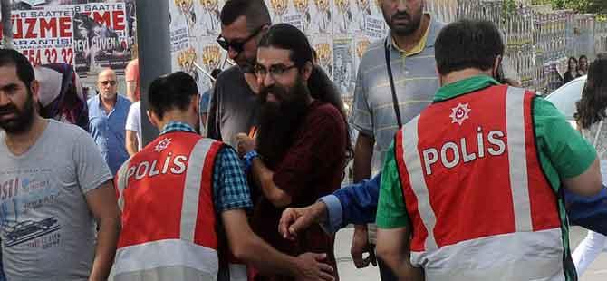 HDP'nin 'Barış mitingi'nde arbede