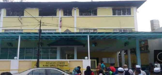 Malezya'da ruhsatsız Kuran okulunda yangın: 24 kişi hayatını kaybetti