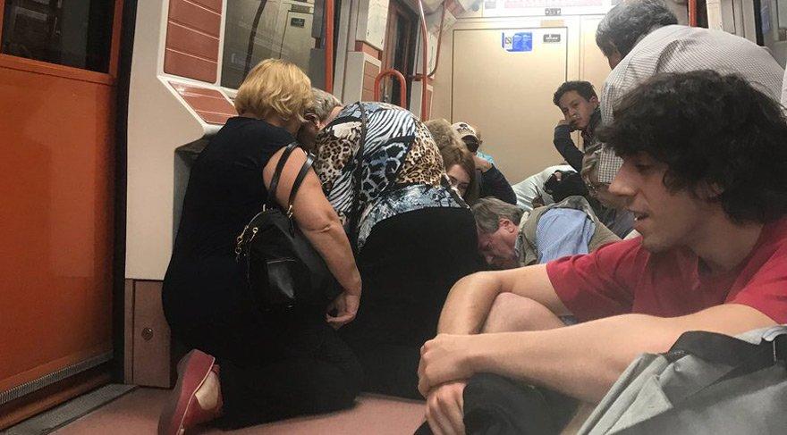 Madrid'de panik: Metroda silah sesleri