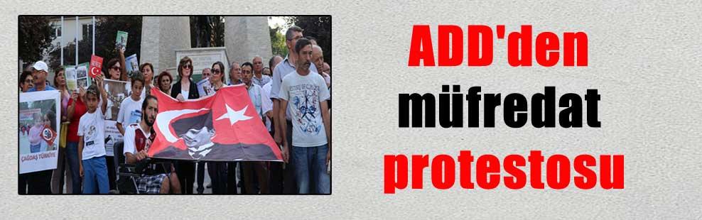 ADD'den müfredat protestosu