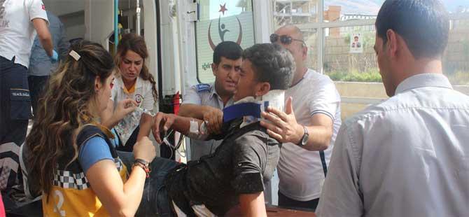 İşçileri taşıyan minibüs takla attı: 1 ölü, 14 yaralı