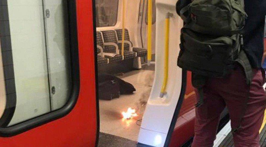Londra'da şarj aleti patladı: Çok sayıda yaralı var