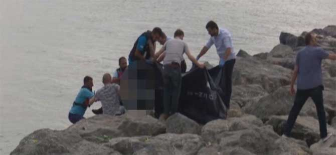 İstanbul'da denizden ceset çıktı