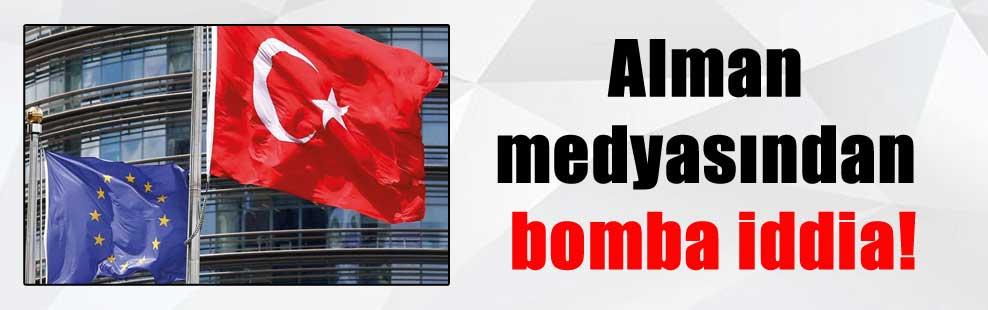 Alman medyasından bomba iddia!