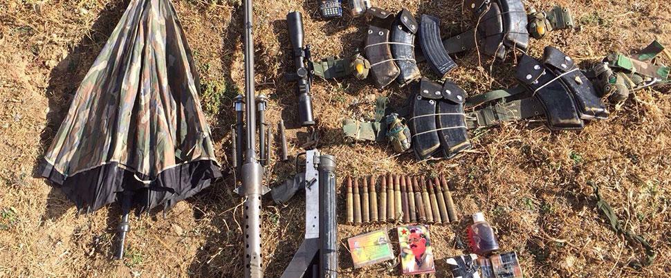 Çıkan çatışmada 1 terörist öldürüldü