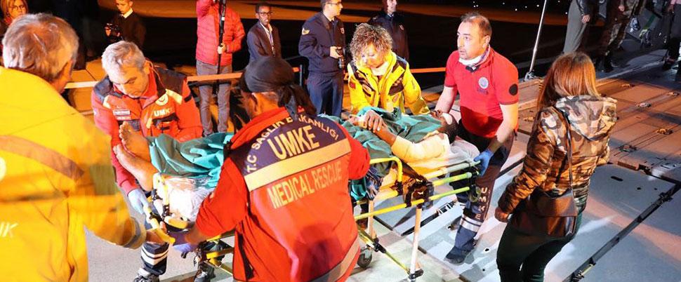 Somalili 35 yaralı, Polatlı'da tedavi edilecek