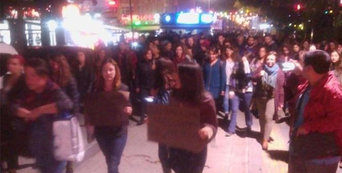 Ankara'da 'müftü nikahı'nı protesto eden kadınlara müdahale