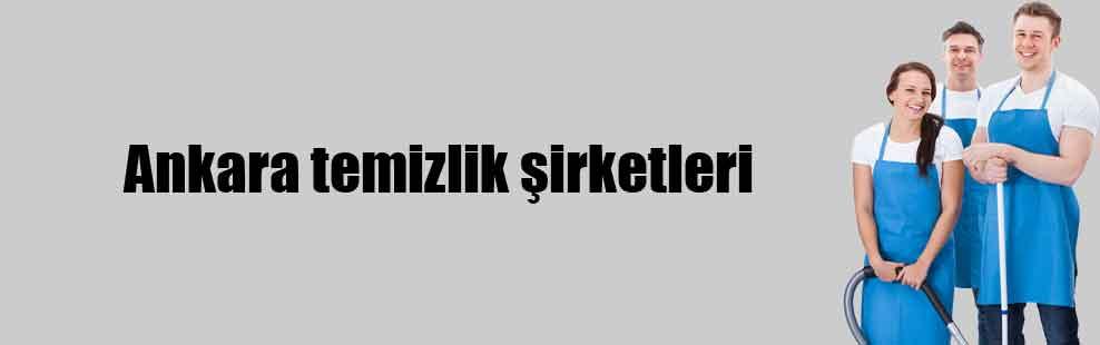 Ankara temizlik şirketleri