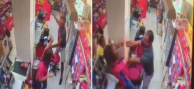 Kadın kasiyere saldıran basketbolcu gözaltına alındı