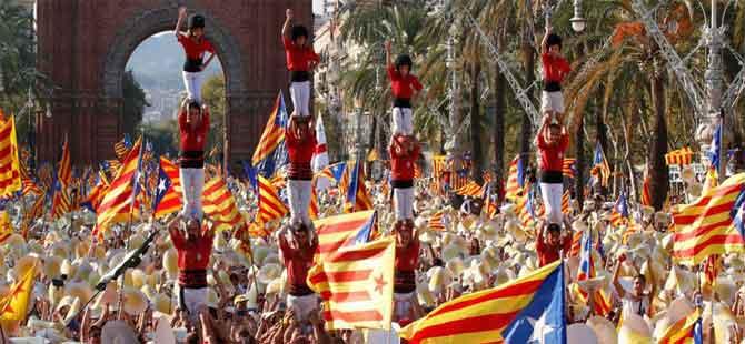 Katalonya referandumunda bağımsızlığa 'yüzde 90 evet'