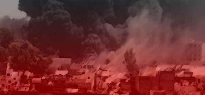 Kerkük'te parti binasına bombalı saldırı!