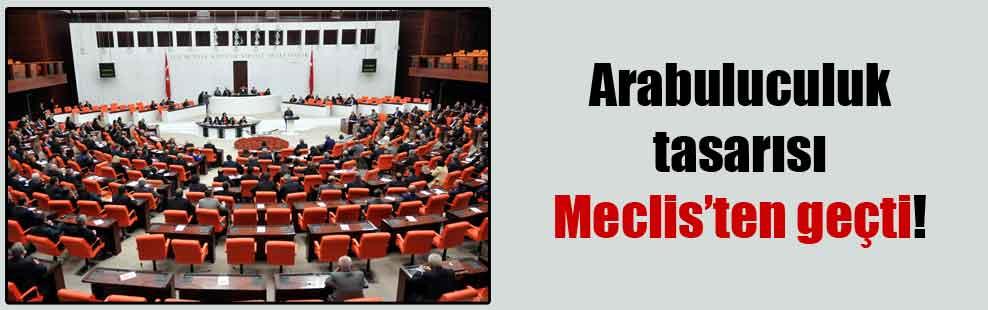 Arabuluculuk tasarısı Meclis'ten geçti!