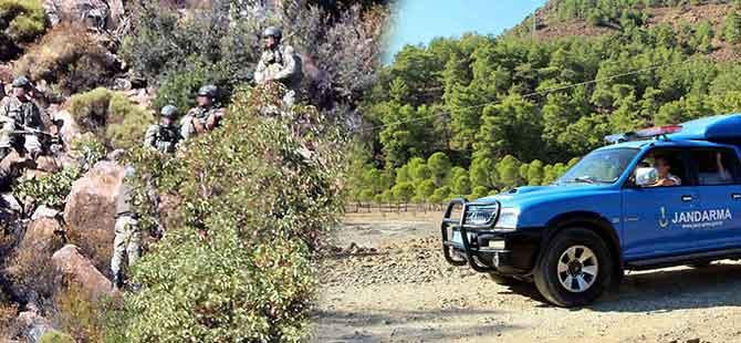 Köyceğiz'deki operasyondan kaçan PKK'lı teröristle ilgili flaş gelişme!