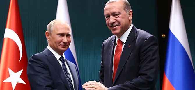Rusya: Putin'in programında Erdoğan'la görüşme yok