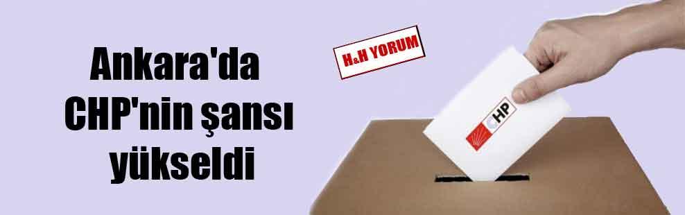 Ankara'da CHP'nin şansı yükseldi