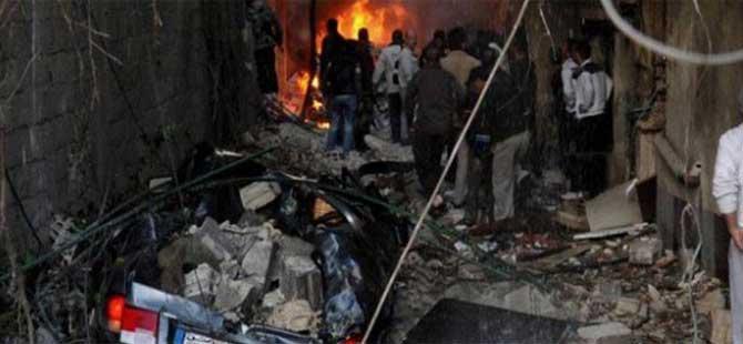 Şam'da ikiz intihar saldırısı! Ölü ve yaralılar var