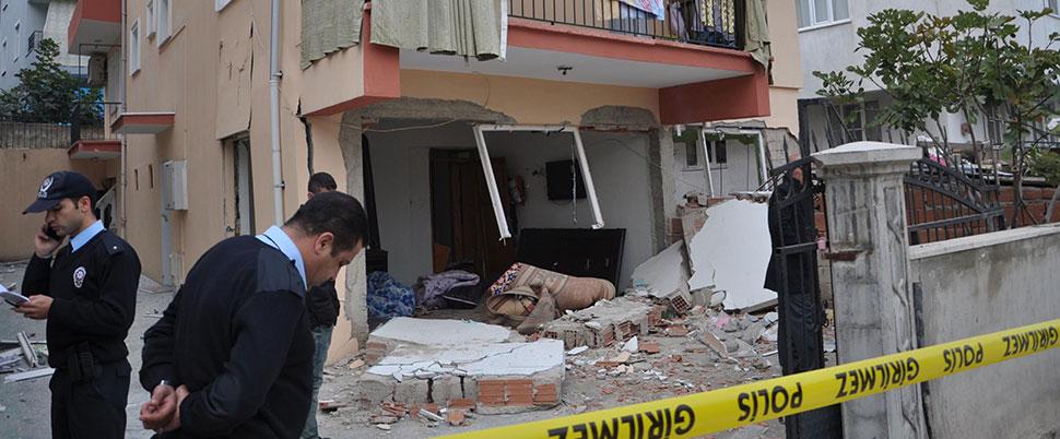 Evde korkutan patlama: 5 yaralı