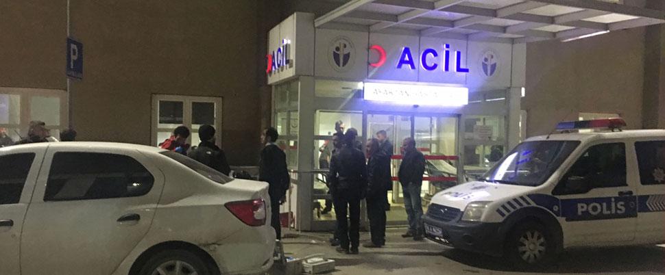 İstanbul'da acil servis önünde silahlı saldırı!