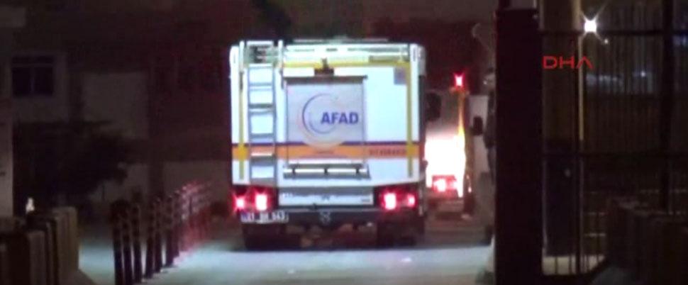 AFAD ekipleri Habur Sınır Kapısı'nda