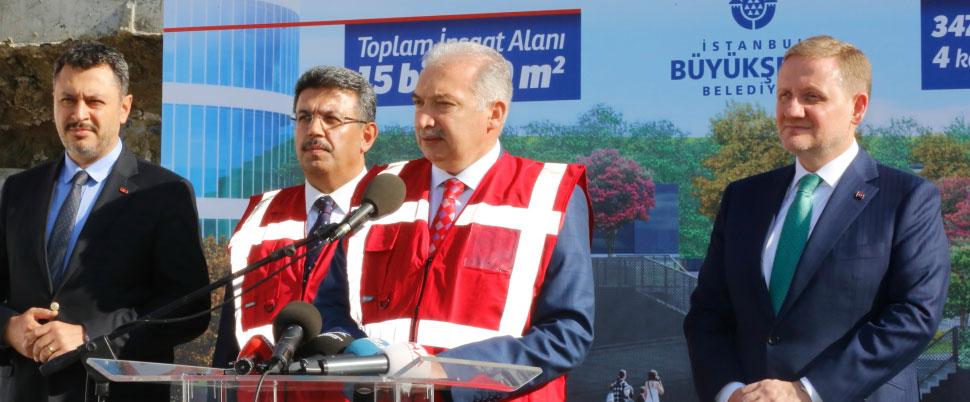 İBB Başkanı açıkladı! Dev proje iptal