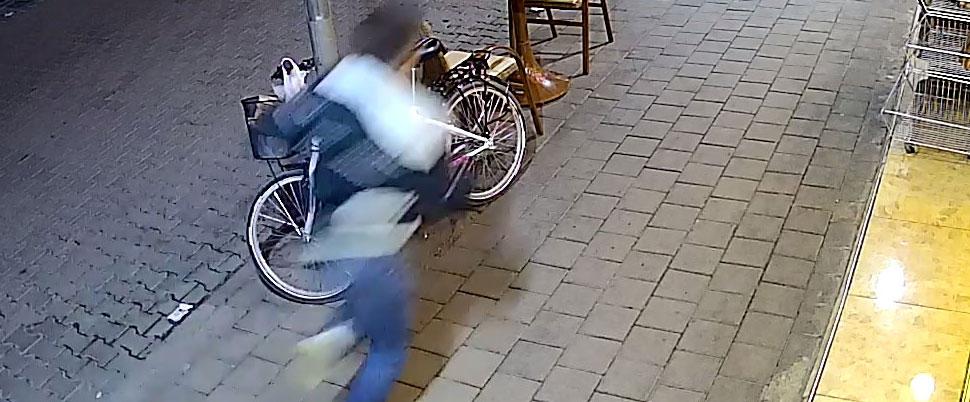 3 dakika sonra yakalandı!