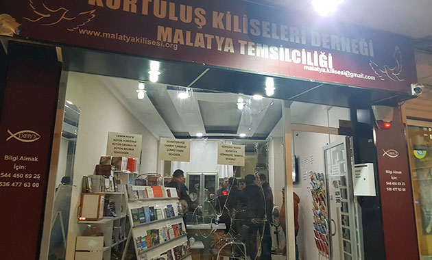 Malatya'da çirkin saldırı