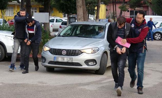 PKK bombacıları Adana'da yakalandı