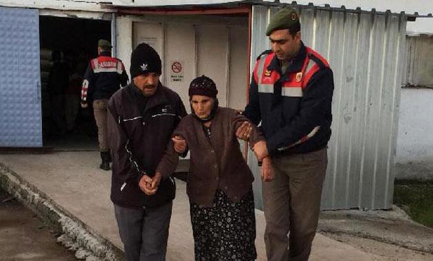 Kayıp yaşlı kadını jandarma buldu