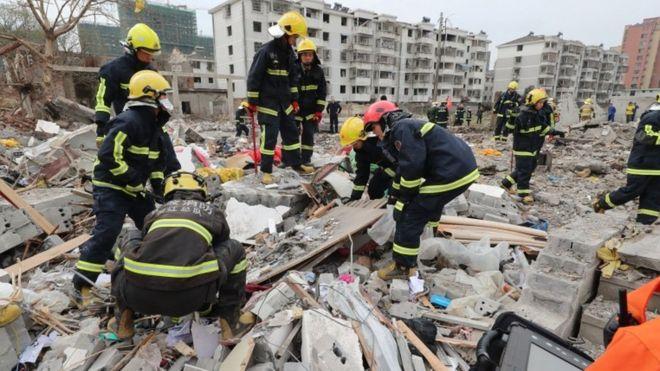 Çin'in liman kenti Ningbo'da patlama: En az iki ölü