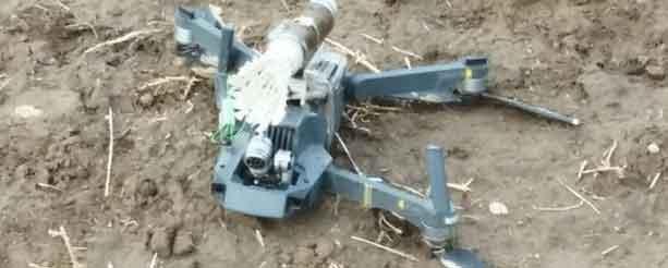 Ağrı'da PKK'ya ait bomba yüklü drone ele geçirildi!