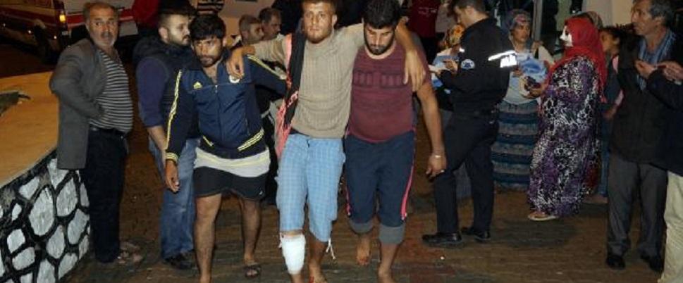 Antalya'yı hortum vurdu: 28 yaralı