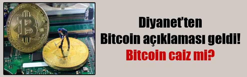 Diyanet'ten Bitcoin açıklaması geldi! Bitcoin caiz mi?