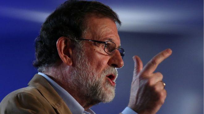 İspanya Başbakanı protesto edildiği Barcelona'da: Ayrılıkçı kargaşaya son vereceğiz