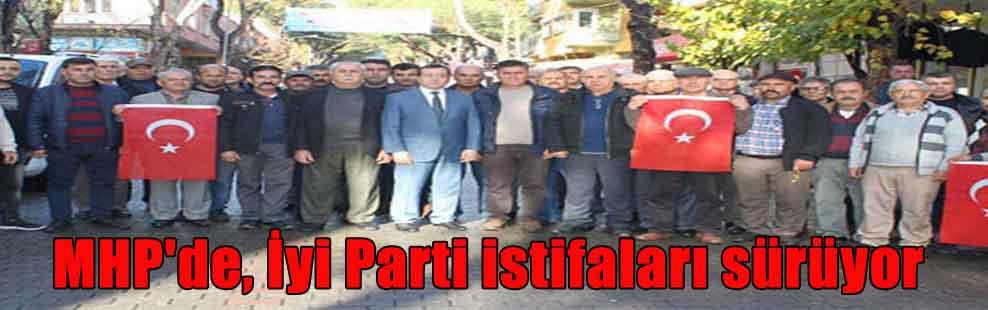 MHP'de, İyi Parti istifaları sürüyor