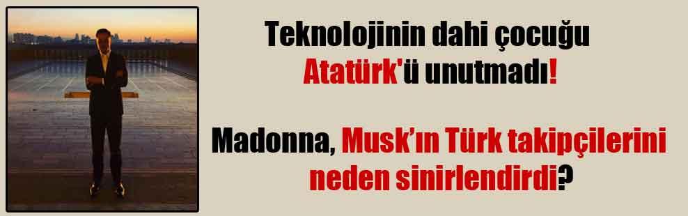 Teknolojinin dahi çocuğu Atatürk'ü unutmadı!