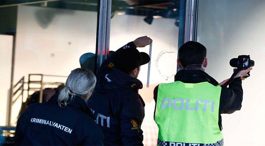 Norveç'te bir kişi etrafa ateş açtı