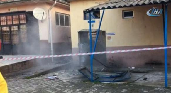 Okulda patlama: ölü ve yaralılar var