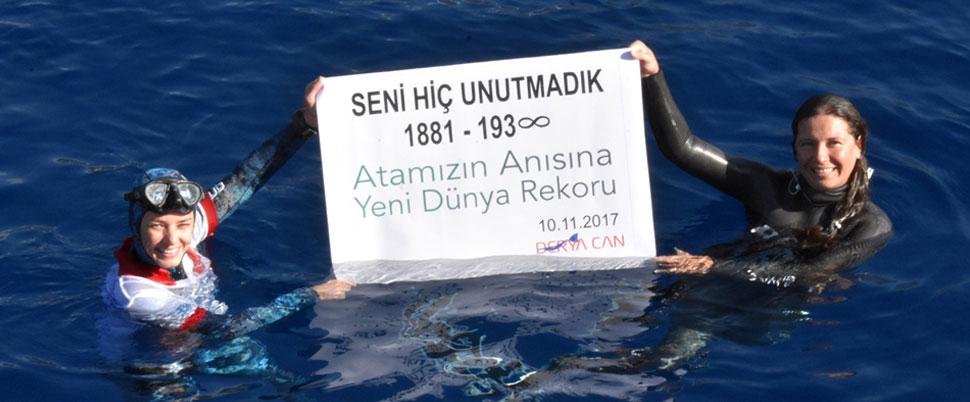 'Atatürk' anısına dünya rekoru