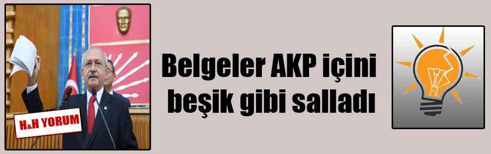 Belgeler AKP içini beşik gibi salladı