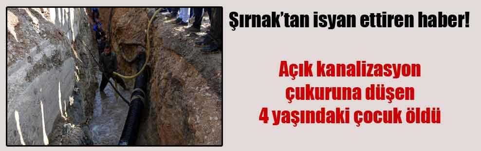 Şırnak'tan isyan ettiren haber!
