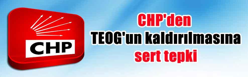 CHP'den TEOG'un kaldırılmasına sert tepki